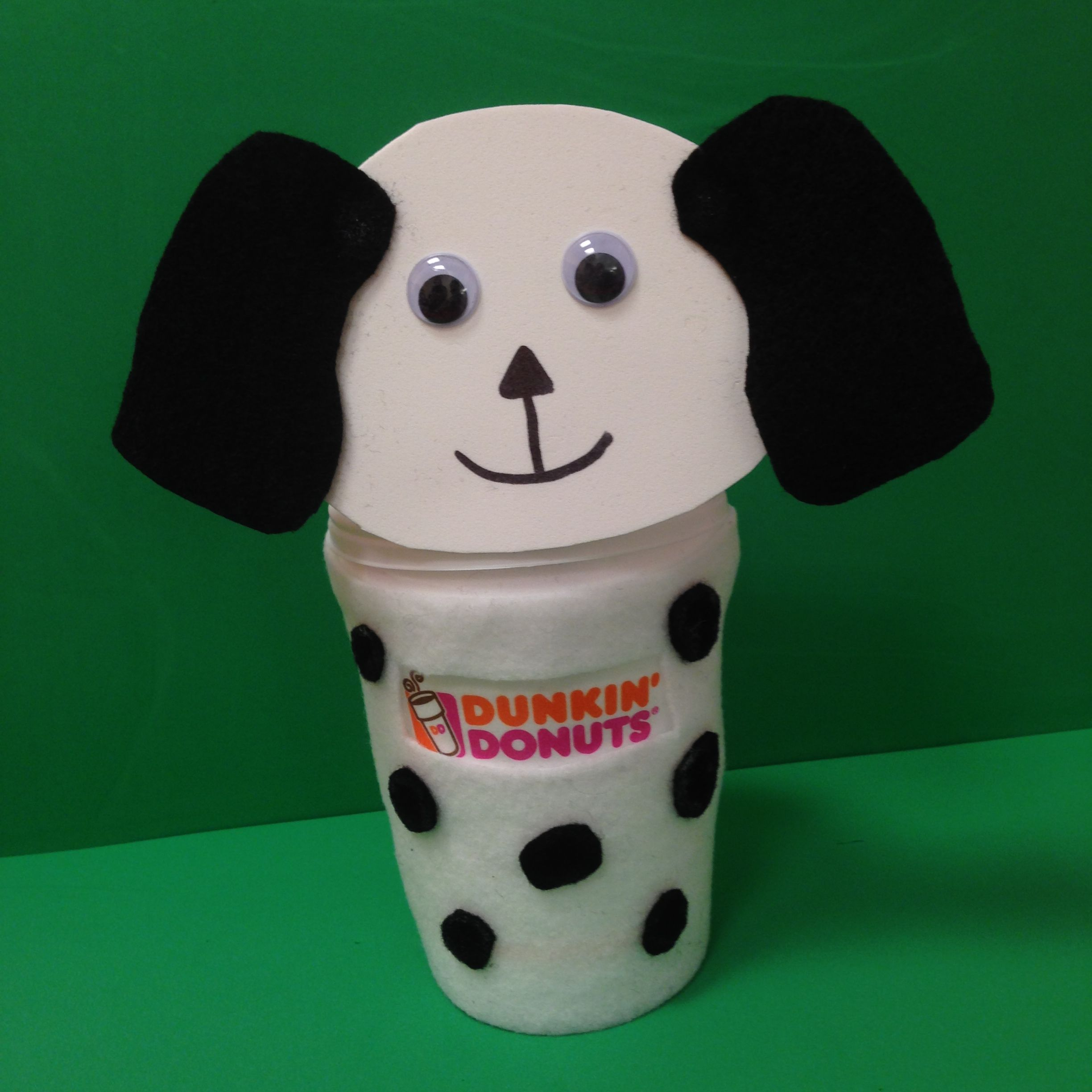 Dress up your DD Coffee cup for Halloween! Tweet us or