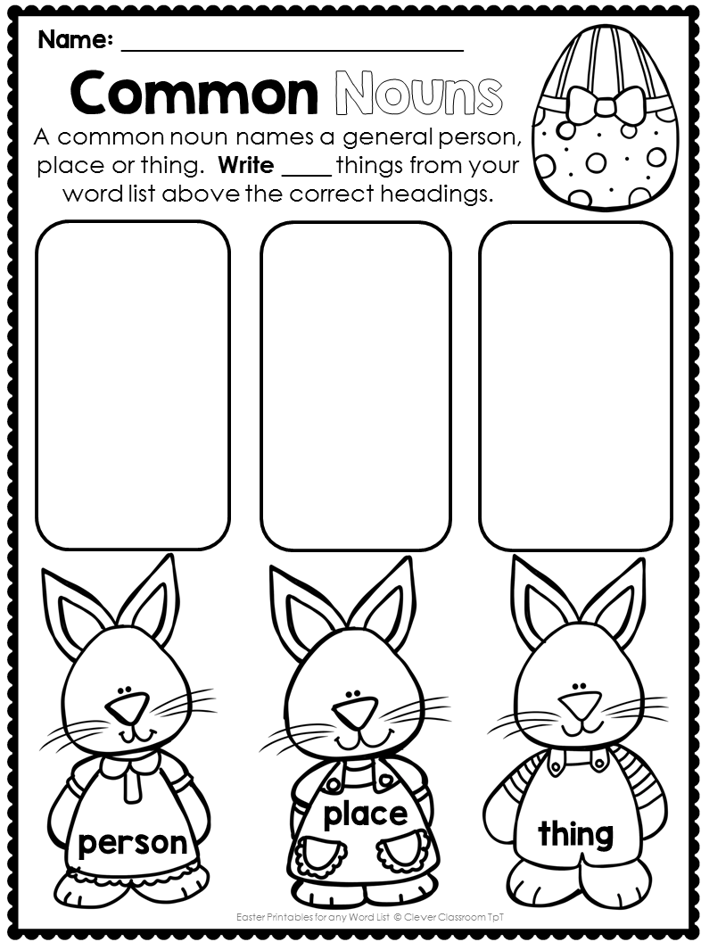 Printables For Any File Easter Style Love These For K 1 In April Easter Teaching Easter Math Clever Classroom [ 1056 x 786 Pixel ]