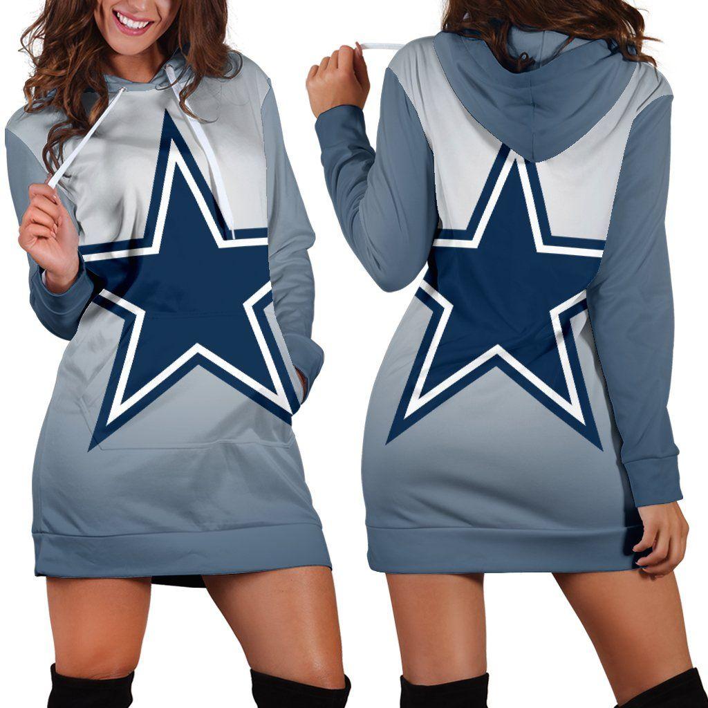 d9c983df568 Dallas Cowboys Hoodie Dress | Dallas cowboys | Dallas cowboys hoodie ...