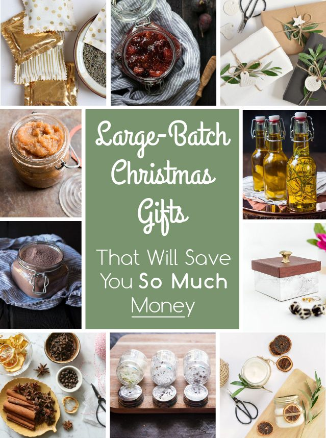 These Large Batch Christmas Gifts Will Save You So Much Money Ehow Com Homemade Food Gifts Christmas Food Gifts Edible Christmas Gifts