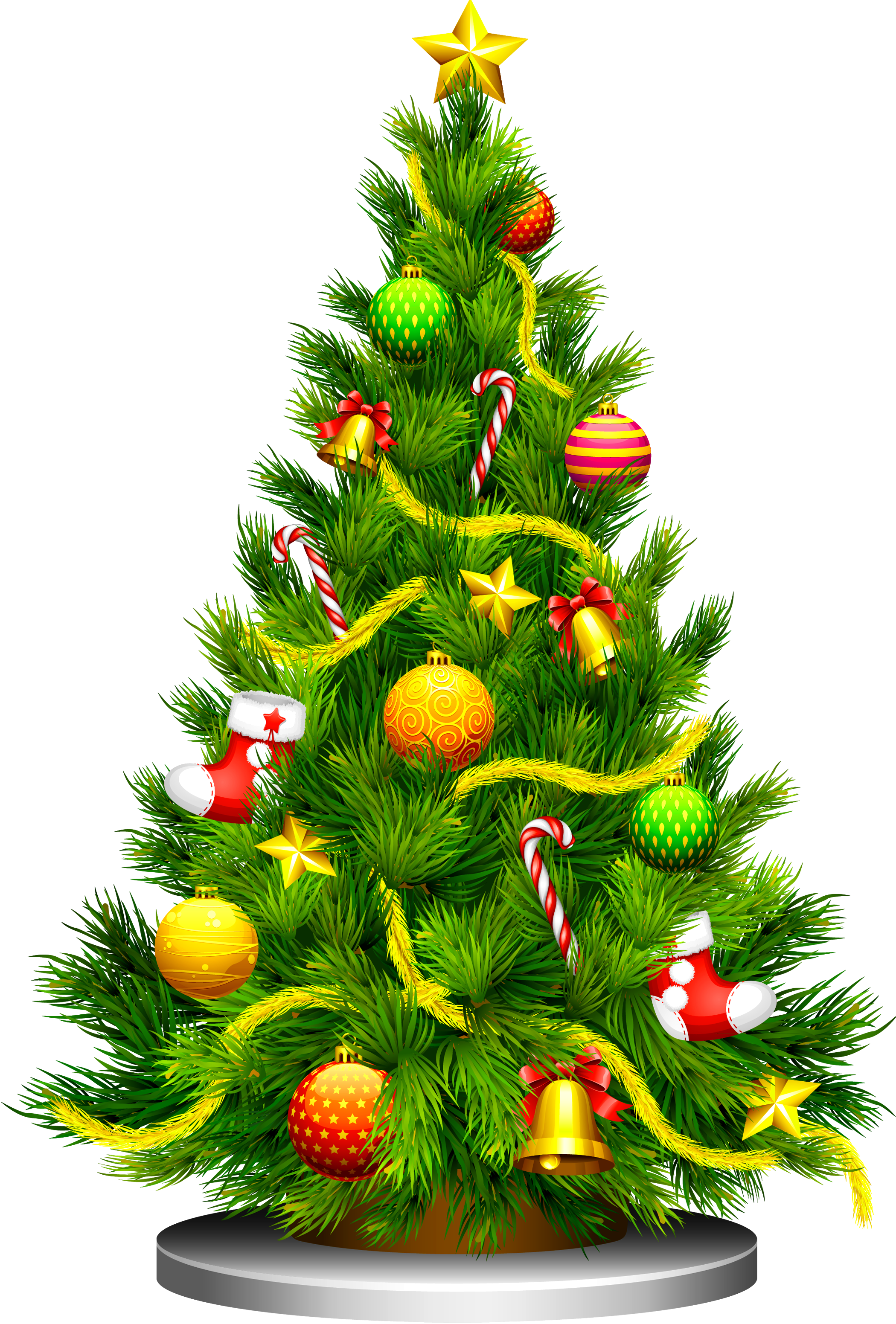 Christmas Tree Images Free Ideas In 2020 Christmas Tree Images Christmas Tree Clipart Christmas Tree With Presents