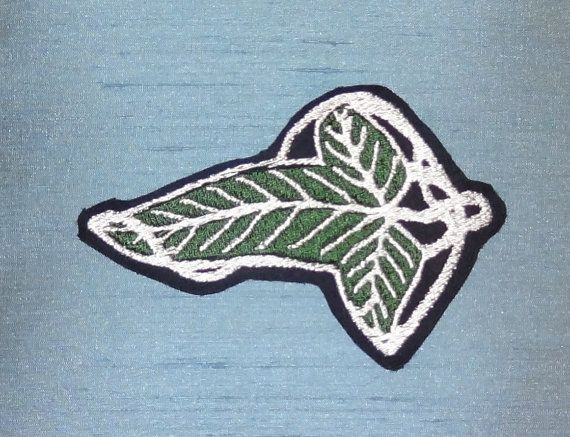 The Elf Leaf brooch patch, from The Lord of the Rings (LOTR