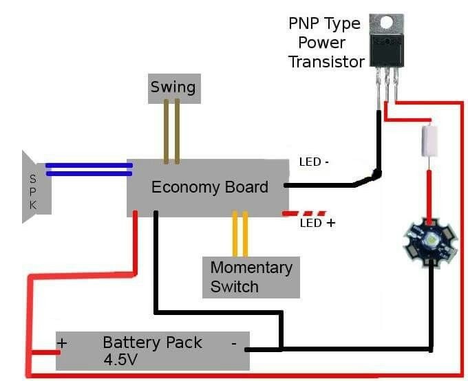 Economy Board Wiring Diagram  With Tri