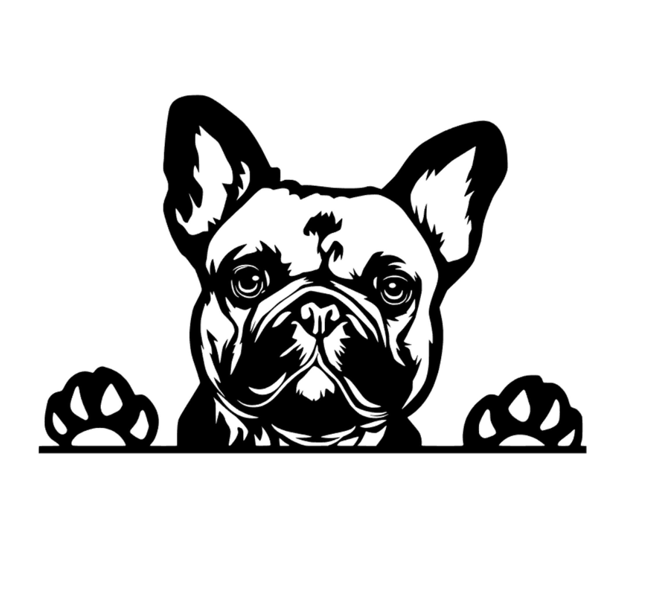 French Bulldog Car Decal Sticker Frenchie Dog Sticker Vinyl Window Ute Cute Fun Dog Love Frenchies French Bulldog Gifts Frenchie Gifts In 2020 French Bulldog Gifts French Bulldog Bulldog