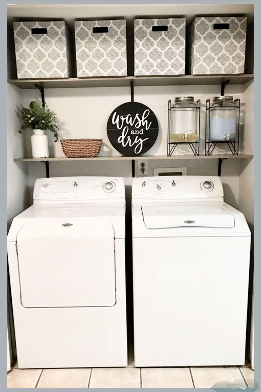 Jan 17, 17 - Small Laundry Room Ideas (on a BUDGET) – Laundry