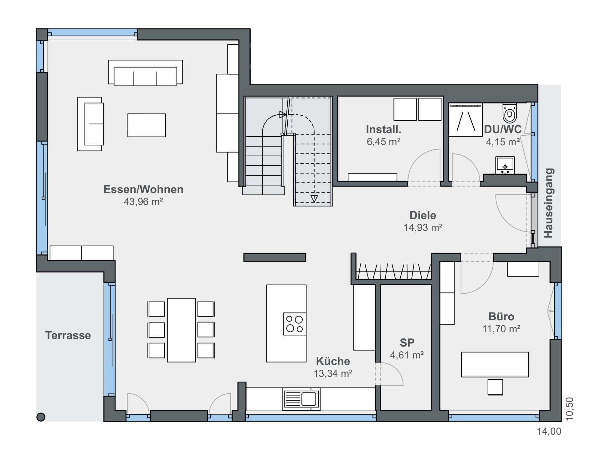 Kundenhaus Blum WeberHaus in 2020 Haus grundriss, Haus