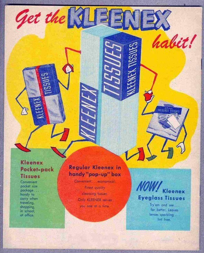 Kleenex. Since 1924
