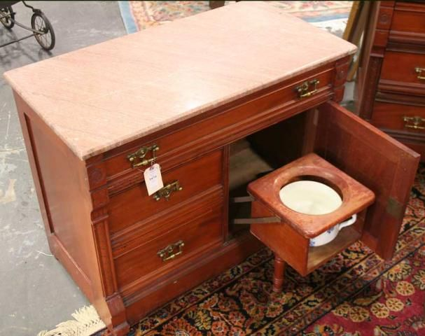 Attractive Eastlake Antique Bedroom Furniture | Antique Eastlake Commode
