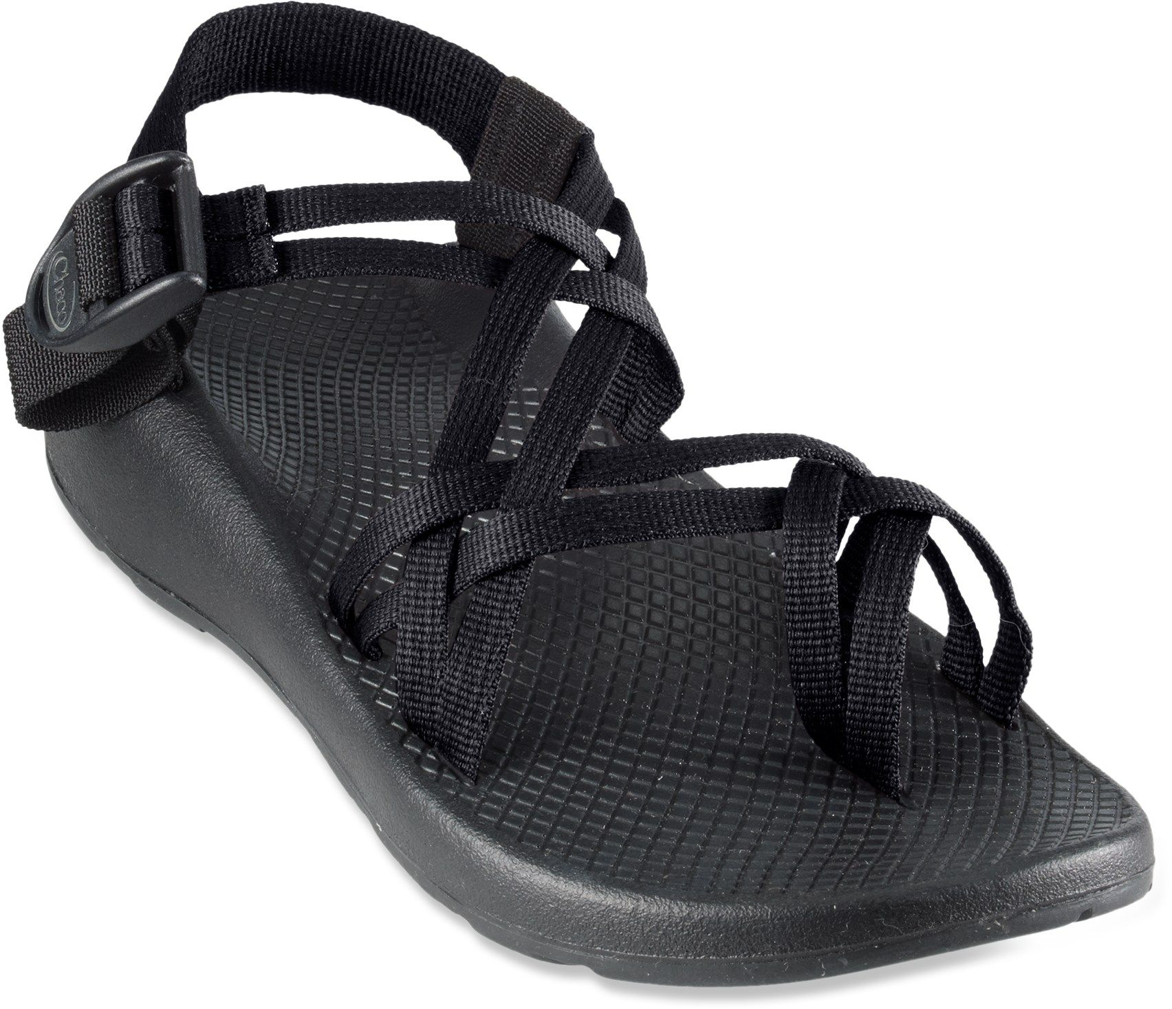 Chaco Women S Zx 2 Yampa Sandals Black 6 Medium Free