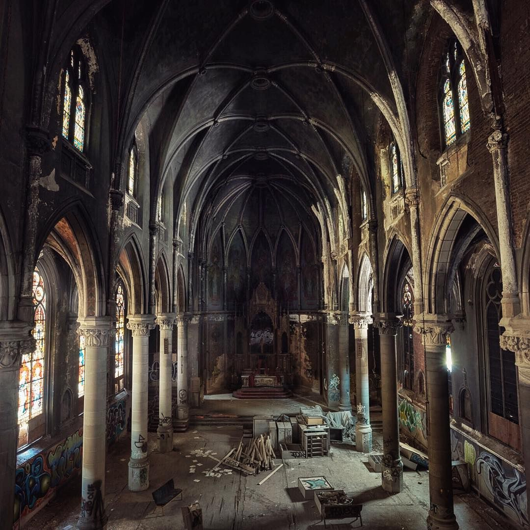 Abandoned Church In Pittsburgh In Which Scenes From The