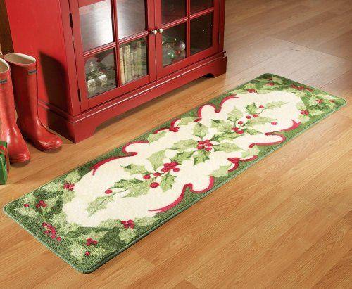 Christmas Carpet Runner.Top 10 Christmas Runner Rugs Of 2019 Top 10 Reviews