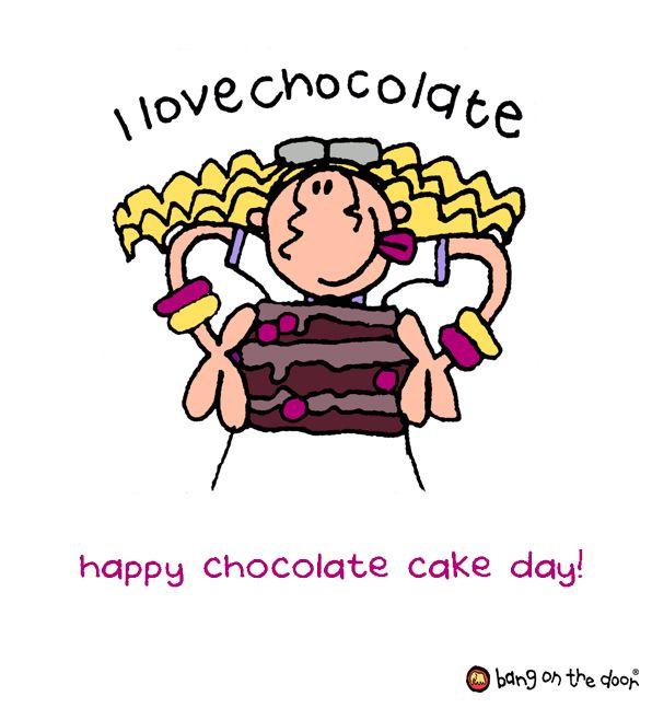 National Chocolate Cake Day National Chocolate Cake Day Cake Day Clip Art