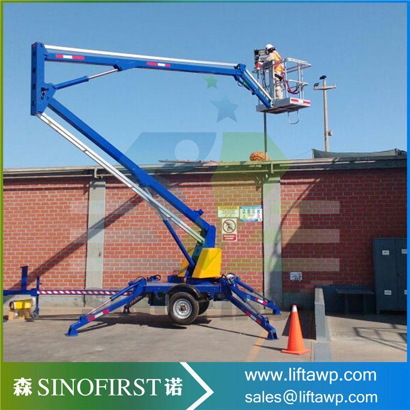 spider boom lift(30M crawler Telescopic boom lift,diesel
