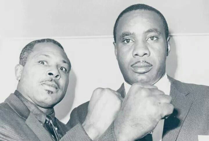 Archie Moore and Sonny Liston
