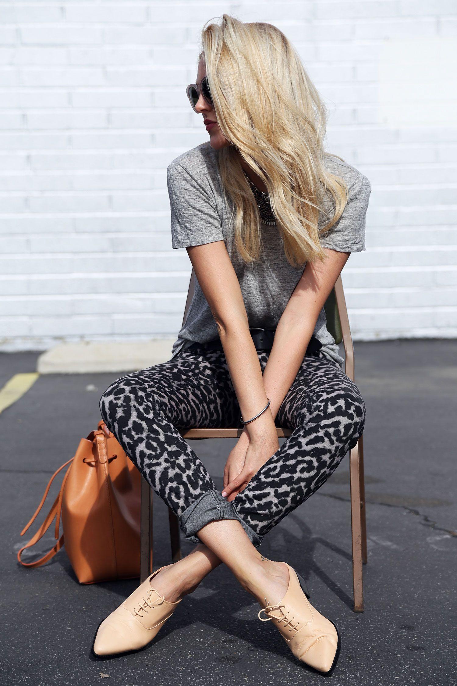 J'adore les chaussures et le pantalon!