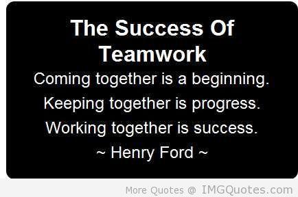 Teamwork Quotes 5 Team Success Quotes