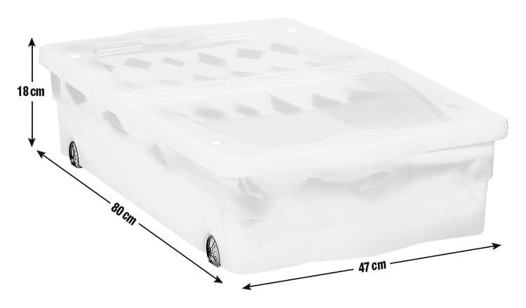 The Best Under Bed Storage Ideas In 2020 Plastic Underbed Storage Storage Boxes Plastic Box Storage