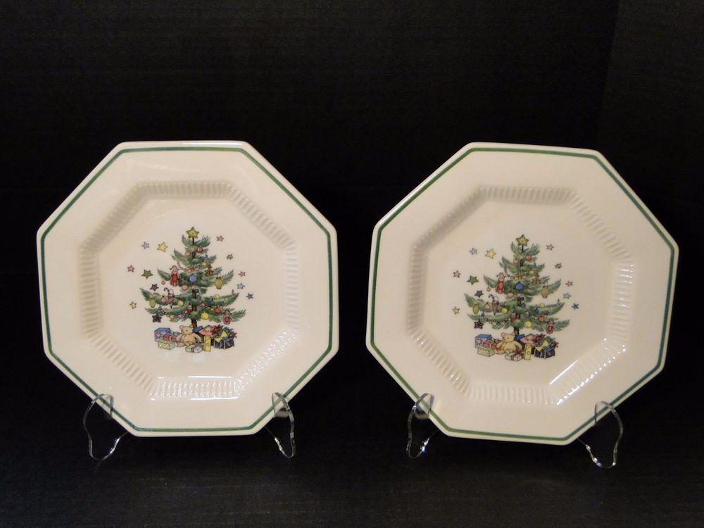 Holiday dinnerware · Nikko Christmastime ... & Nikko Christmastime Salad Plates 8 1/4