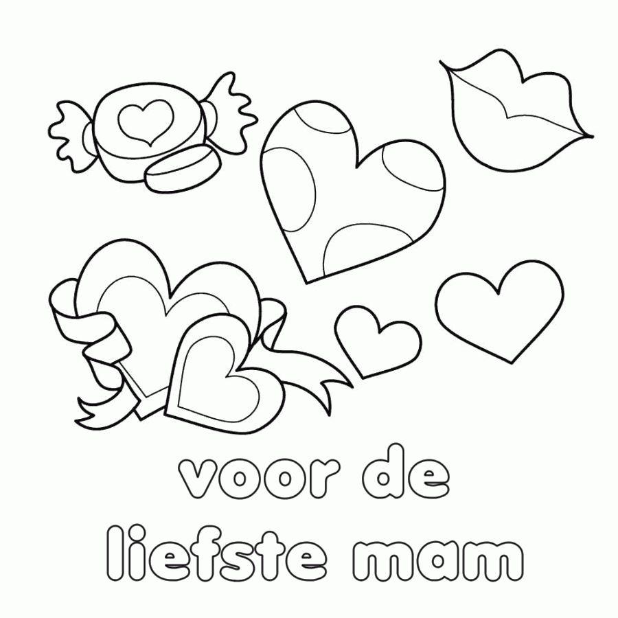 Mooie Moederdag Kleurplaten Leuk Voor Kids Idee Tekeningen Voor Moederdag 20 Nieuwe Tekeningen Voor Moederdag Vaderdag Moederdag Knutselen Moederdag