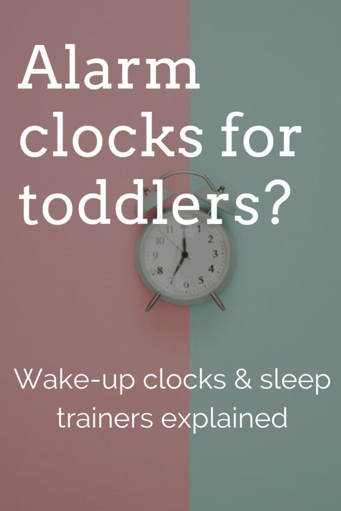 What Age Should Kids Start Using an Alarm Clock | Clock ...