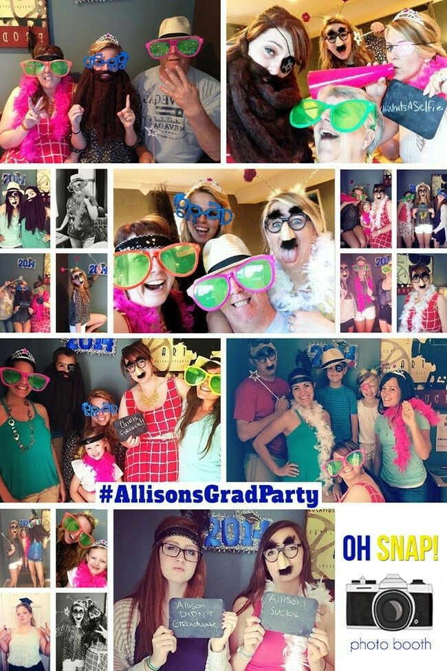 Use disposable cameras or a hash tag for party pics