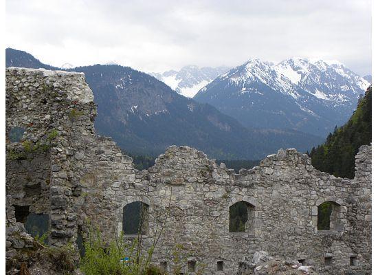 Ehrenberg Castle Ruins, Reutte, Austria