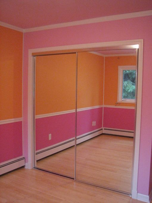 Pink & Orange Room - Girls\' Room Designs - Decorating Ideas ...