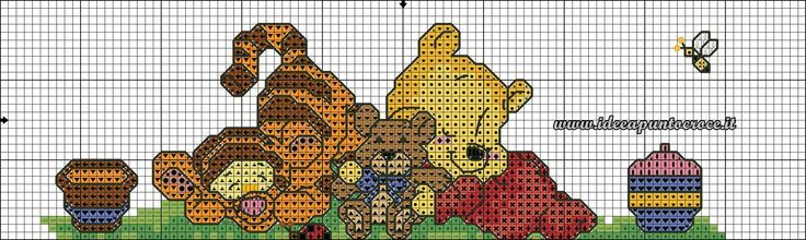 Punto croce winnie the pooh cerca con google winnie for Punto croce disney winnie the pooh