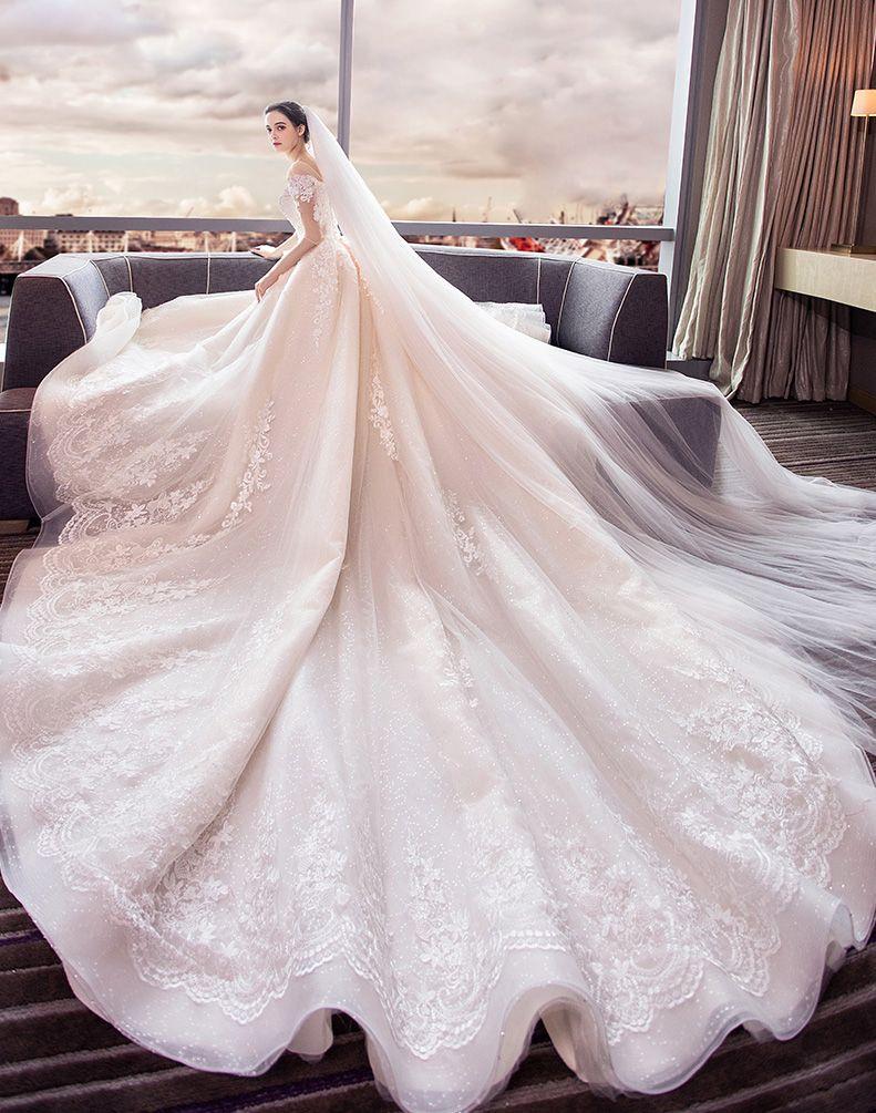 Luxury Elegant Wedding Dress Charming Custom Made Wedding Dress Amazing Wedding Dress Br Wedding Dresses Princess Ballgown Wedding Dresses Ball Gowns Wedding