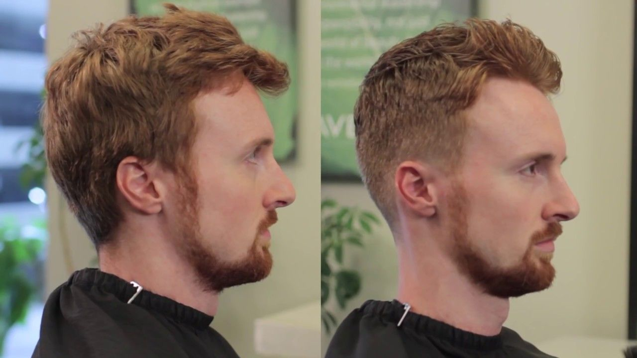 Short Men's haircut with Clipper over comb   YouTube in ...