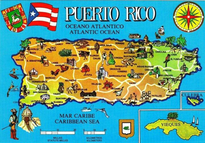 pin de lourdes villegas en mi puerto rico | mapa de puerto