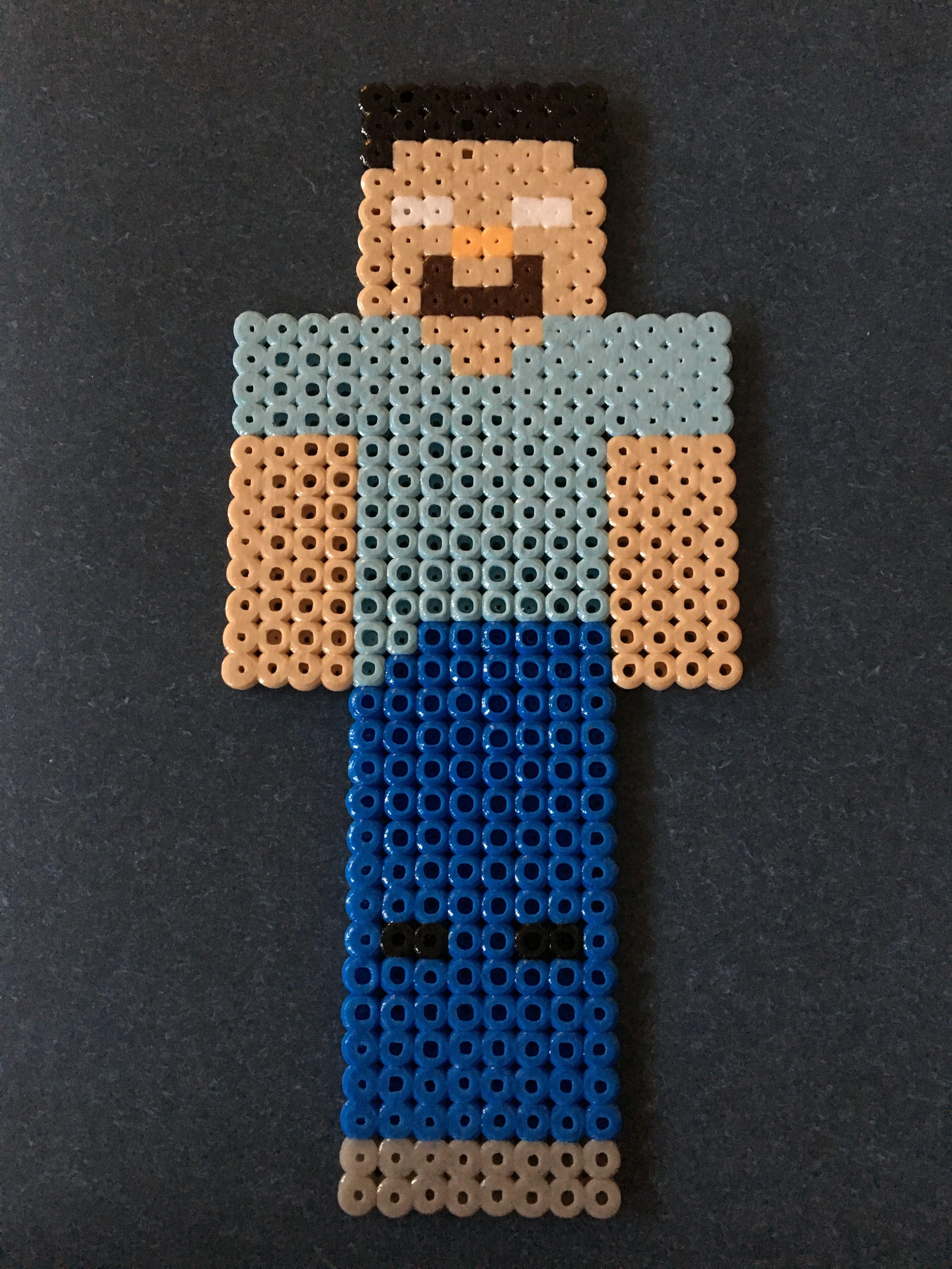 Herobrine Pärlplatta Minecraft Pärlplattor
