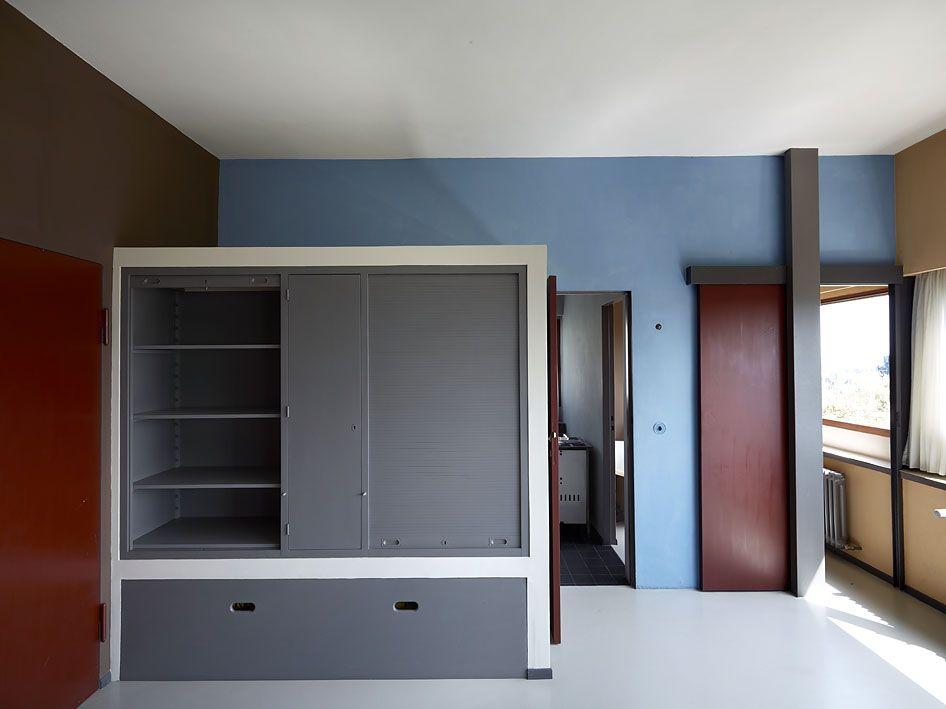 Weissenhof-Siedlung - Le Corbusier | interiors | Bauhaus ...