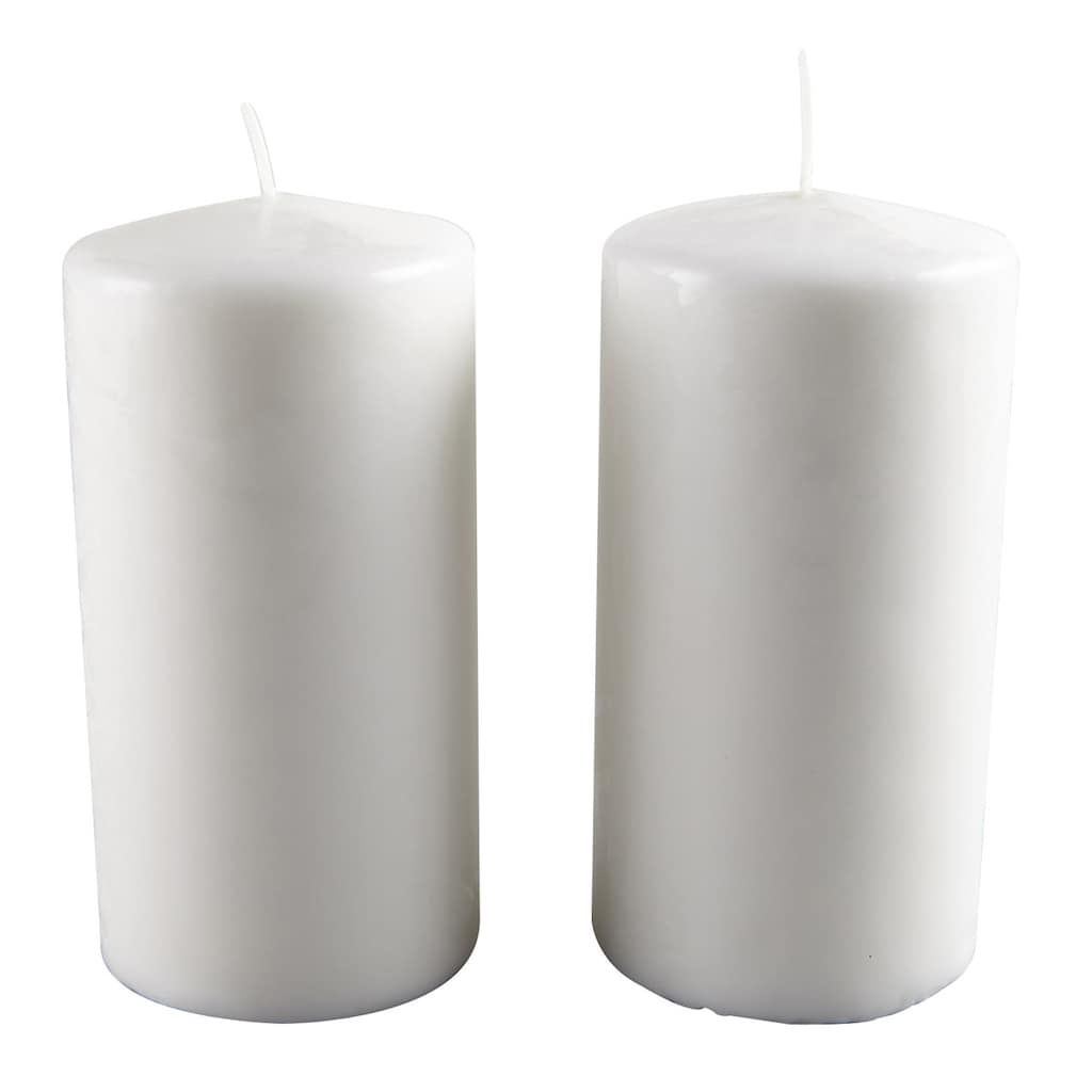 Ashland® Pillar Candle Pair #spraypainting