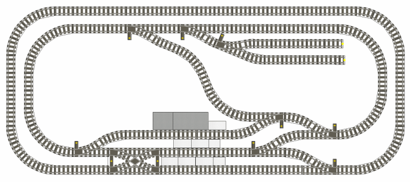 Track Nice Area For City And Trein Lego