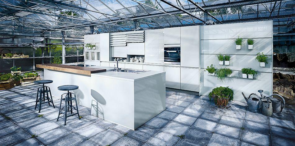 next125 - nx 902 glas matt kristallgrau | küche | pinterest, Kuchen
