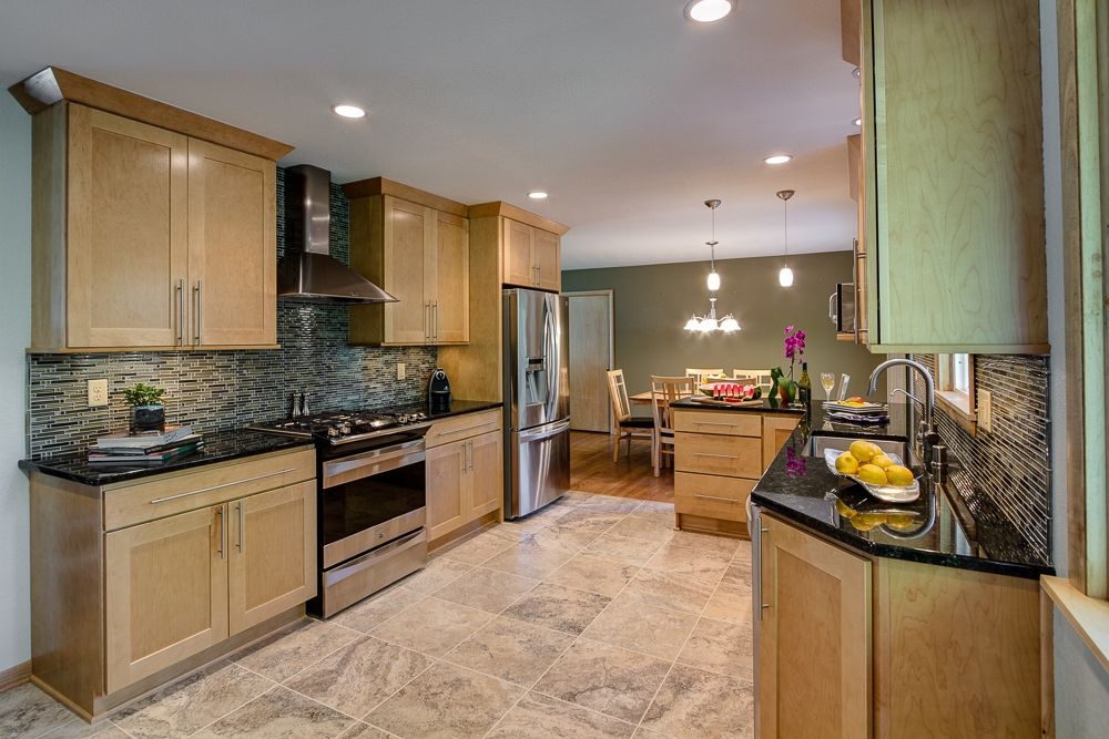 How Long To Remodel A Kitchen Concept Before And After Kitchen Remodel Open Concept  Google Search .