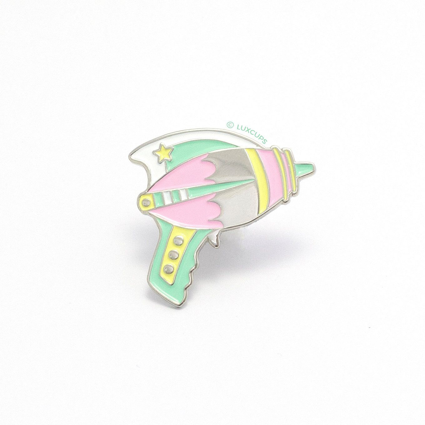 Gun by Ray Enamel LuxCups Pastel EtsyAesthetics Pin on E2YHDe9WI