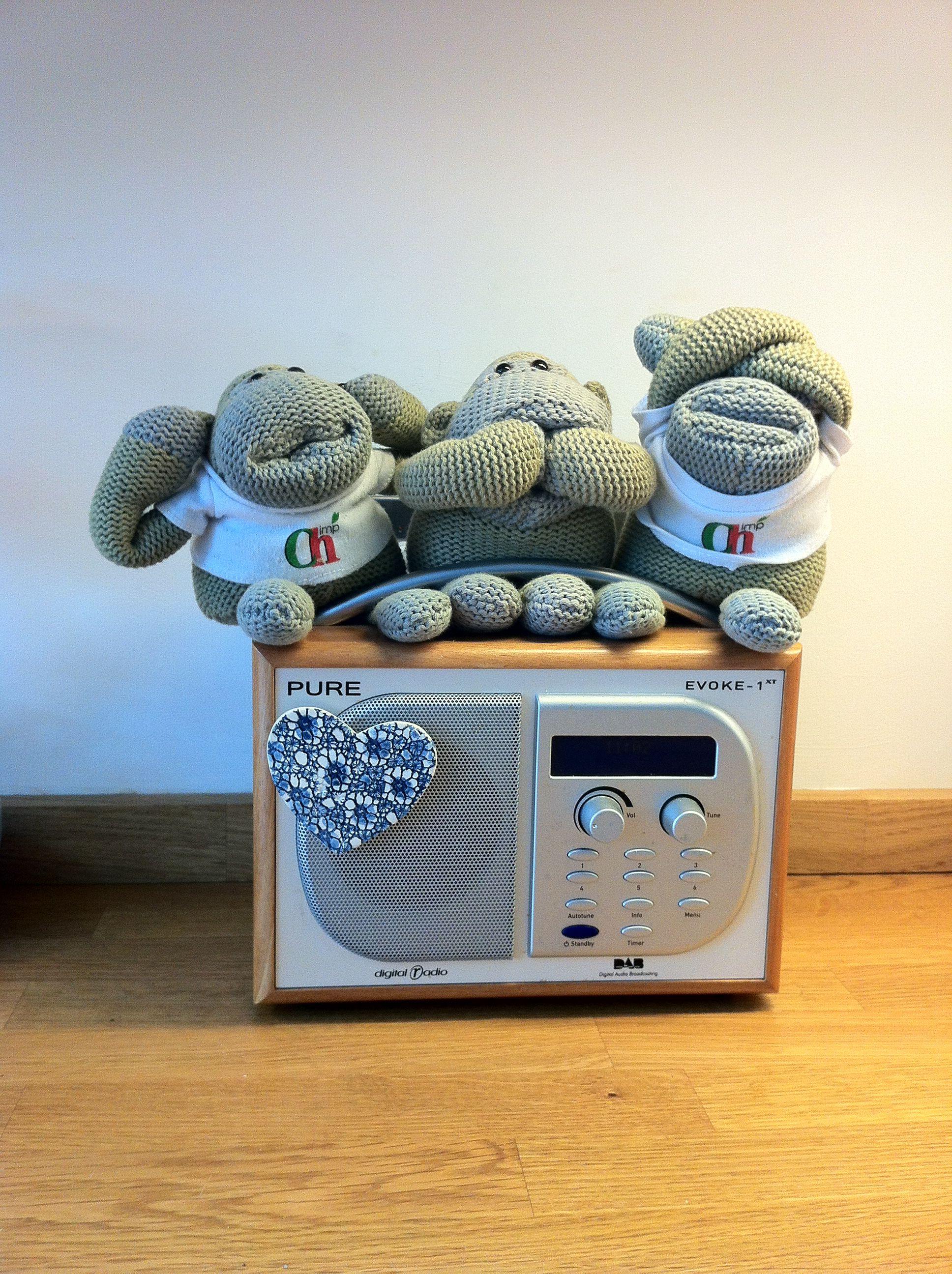 Three wise monkeys , PG Tips monkeys on pure evoke digital radio ...