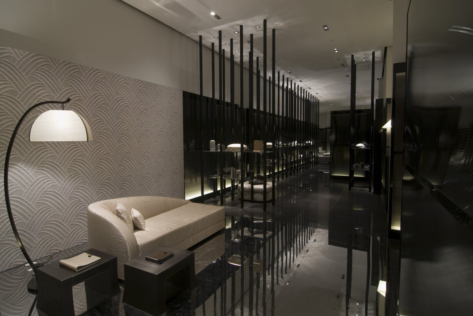 Armani Casa Interiors Lobbies and Hotel reception