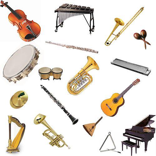 Musical Instruments (Vocabulario de imágenes de instrumentos ...
