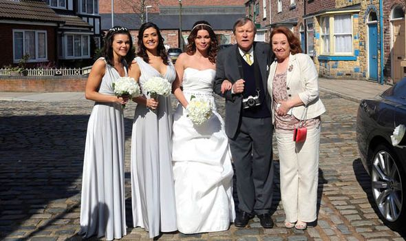 Coronation Street Carla Connor Says Kym Marsh Will Be Brilliant In Pregnancy Storyline