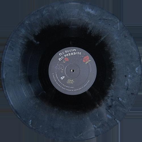 Black Milk No Poison No Paradise Vinyl Artwork Black Milk Vinyl Graphics