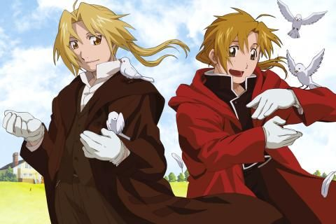 Elric Alphonse Elric Edward Fullmetal Alchemist