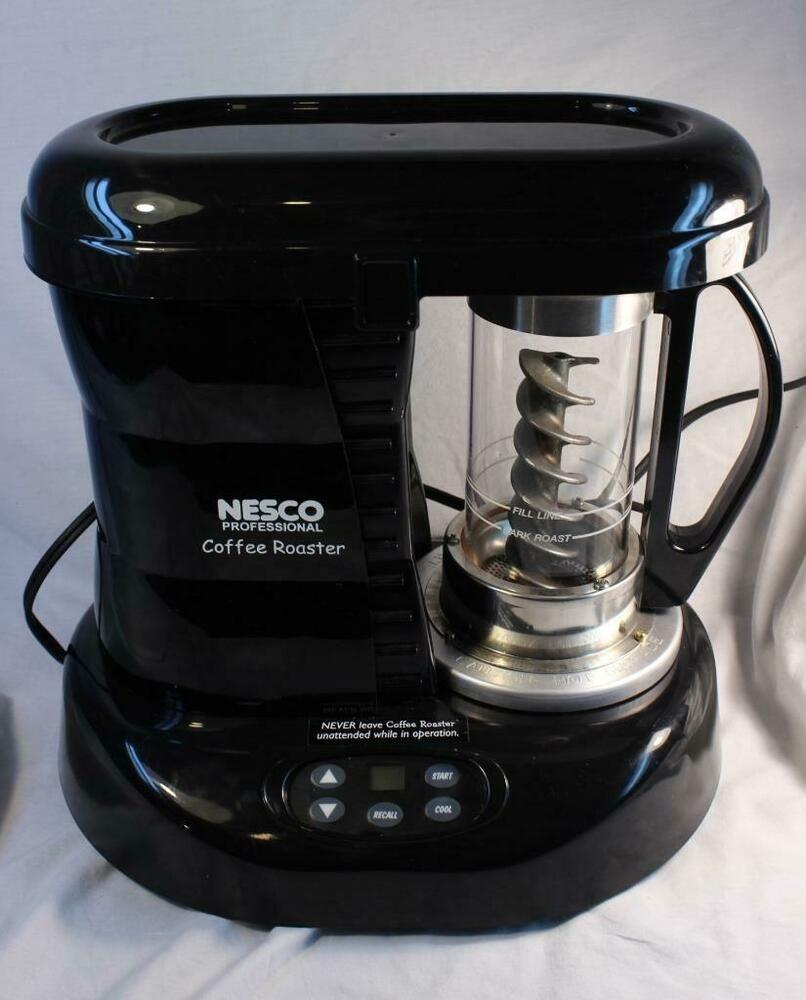 NESCO Professional Coffee Bean Roaster Black Model CR