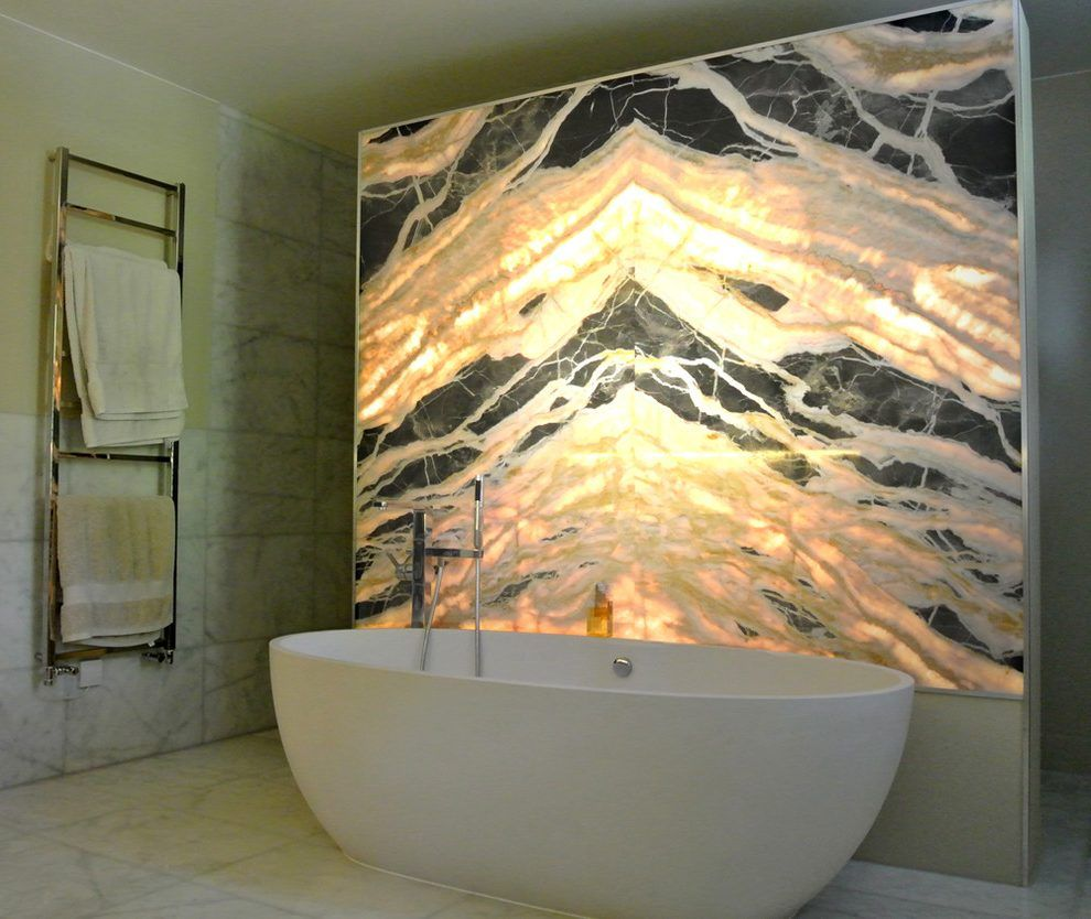 - London Backlit Onyx Wall With Bedding And Bath Manufacturers