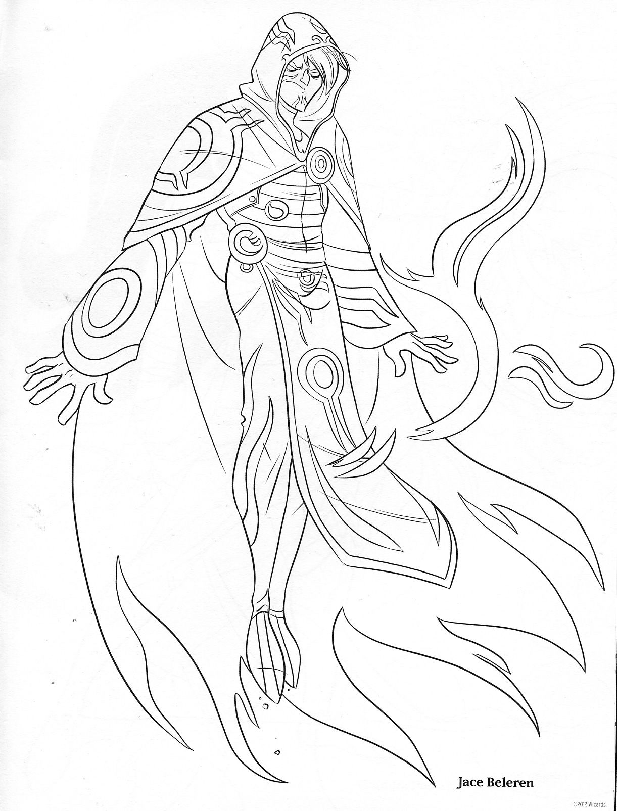 Uncategorized Magic Coloring Pages magic the gathering coloring book pages i love these designs so much guys