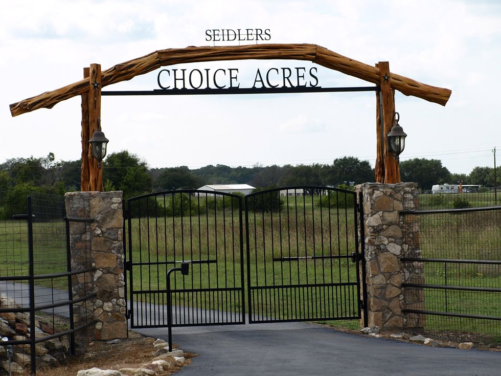 Farm Entrance Signs Driveways