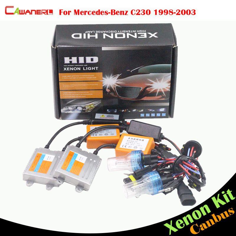 Cawanerl 55w Auto No Error Ballast Lamp Hid Xenon Kit Ac Car Light
