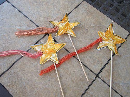 Michaelmas shooting star wands